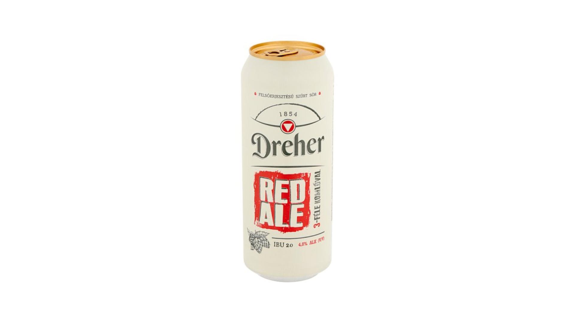 Dreher Red Ale - a magyar nagyüzem válasza