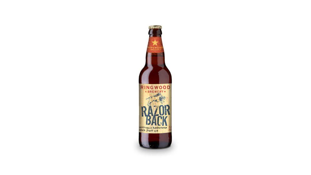 Angol hatos fogat 3. – Ringwood Brewery, Razor Back