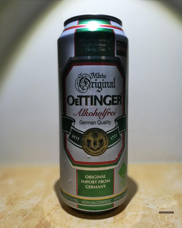 Irány az alsópolc - Oettinger Alkoholfrei