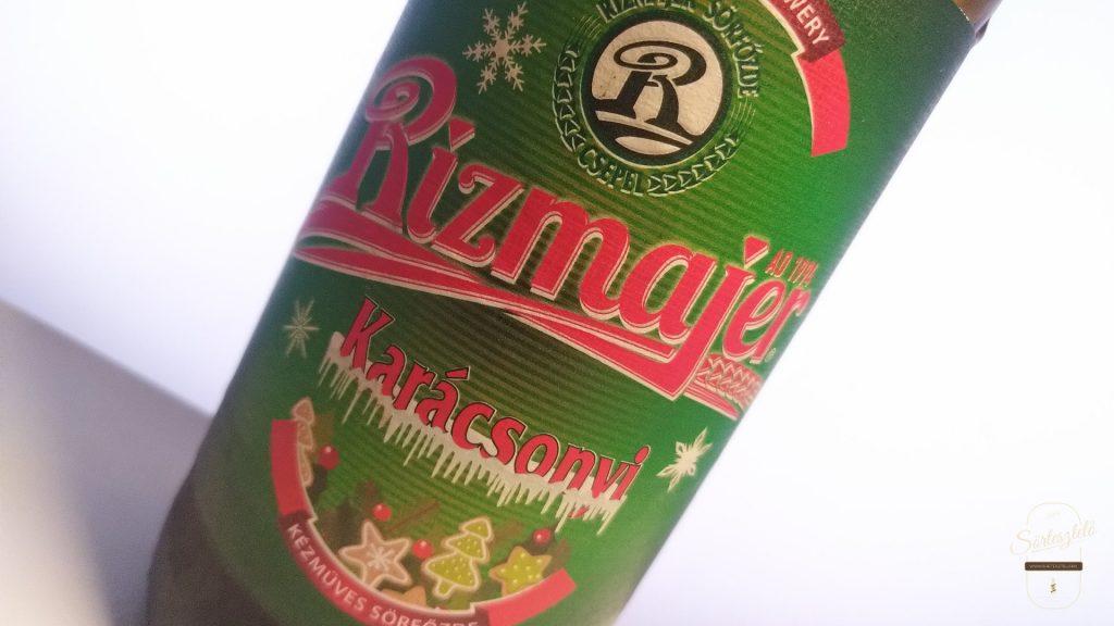 Sörkarácsony 3. – Rizmajer Karácsonyi sör