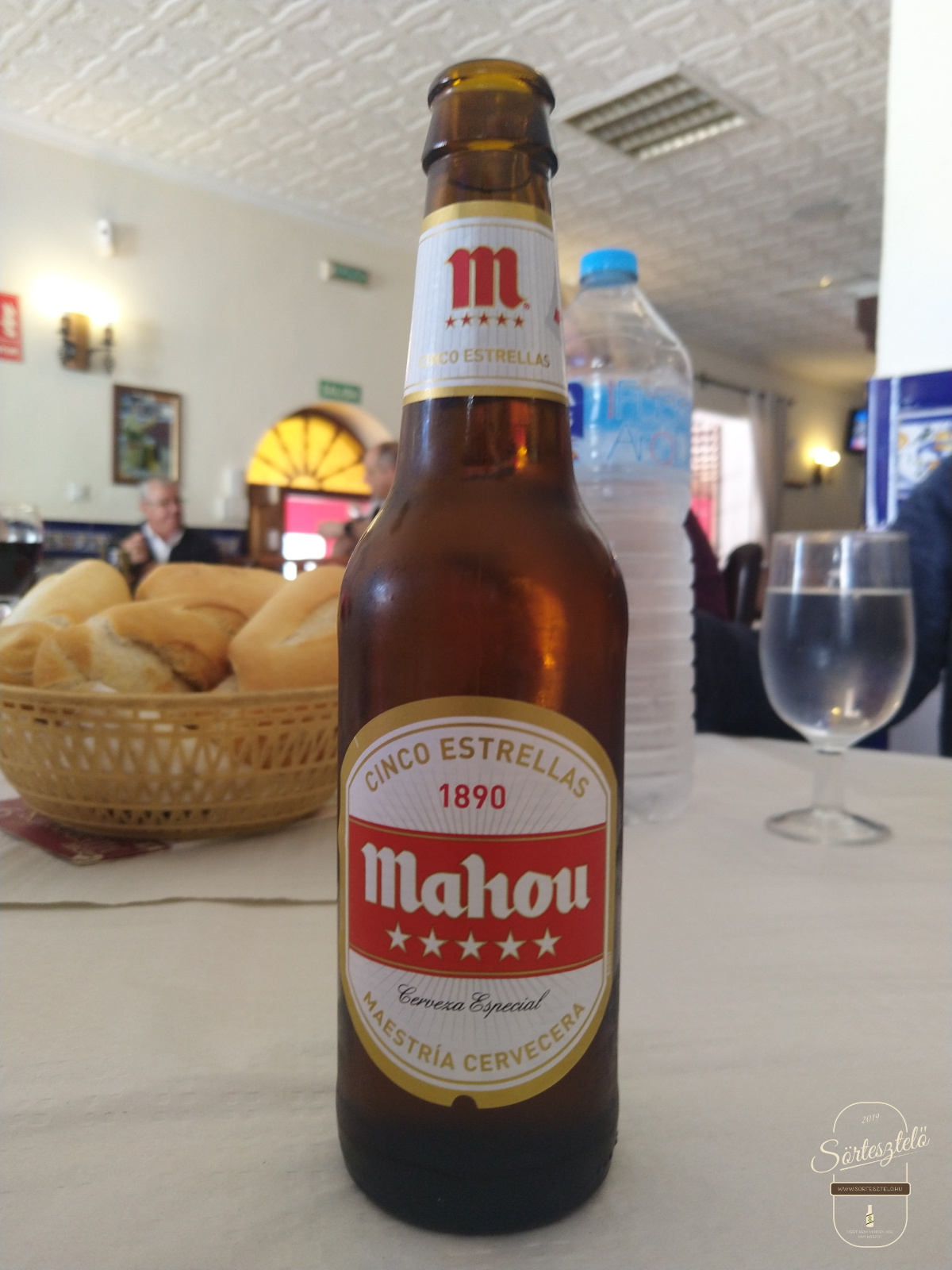 Mahou Cerveza Especial - öt csillagos, de nem Napóleon