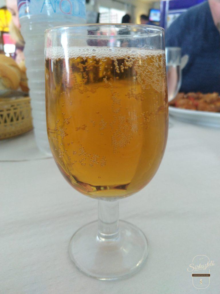 Mahou Cerveza Especial - öt csillagos, de nem konyak