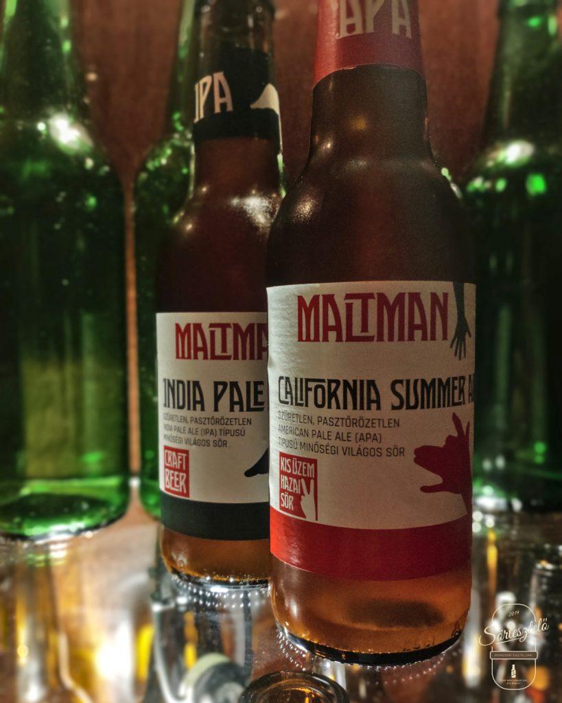 Maltman IPA és APA - duplateszt