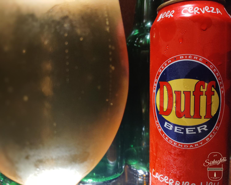 Duff Lagerbier Hell - Deutsche Homer kedvenc söre