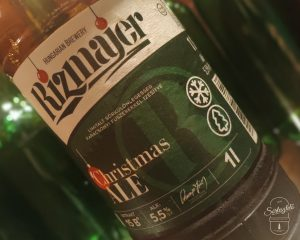 Rizmajer Christmas Ale - csepeli Mikulás