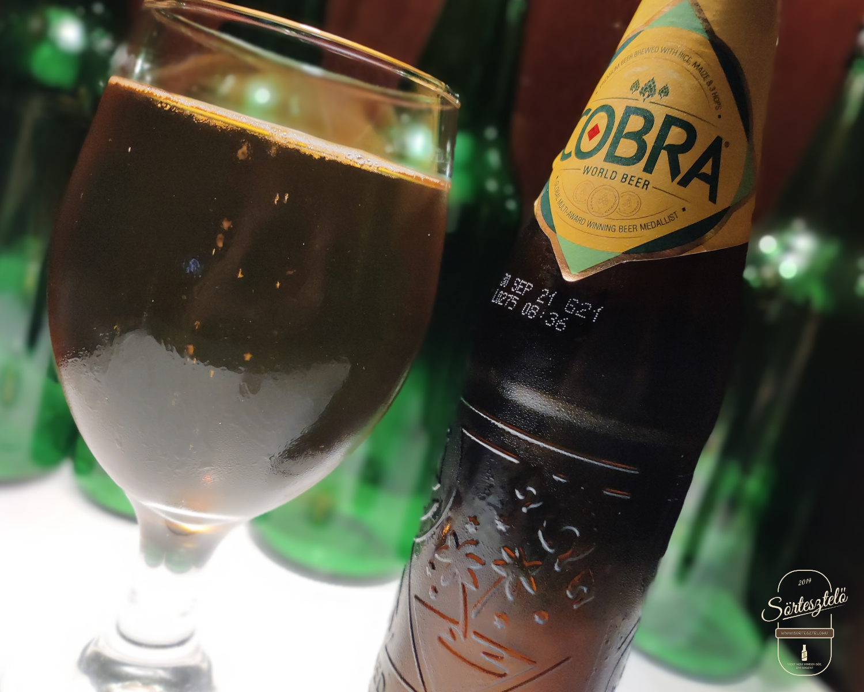 Cobra Premium - egy indiai sör Angliából