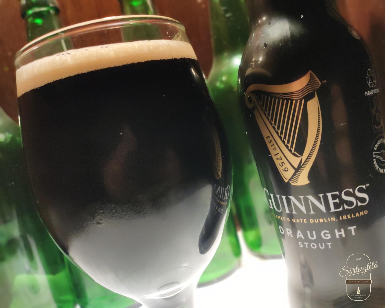 Guinness Draught Stout - be kell vallanunk valamit...