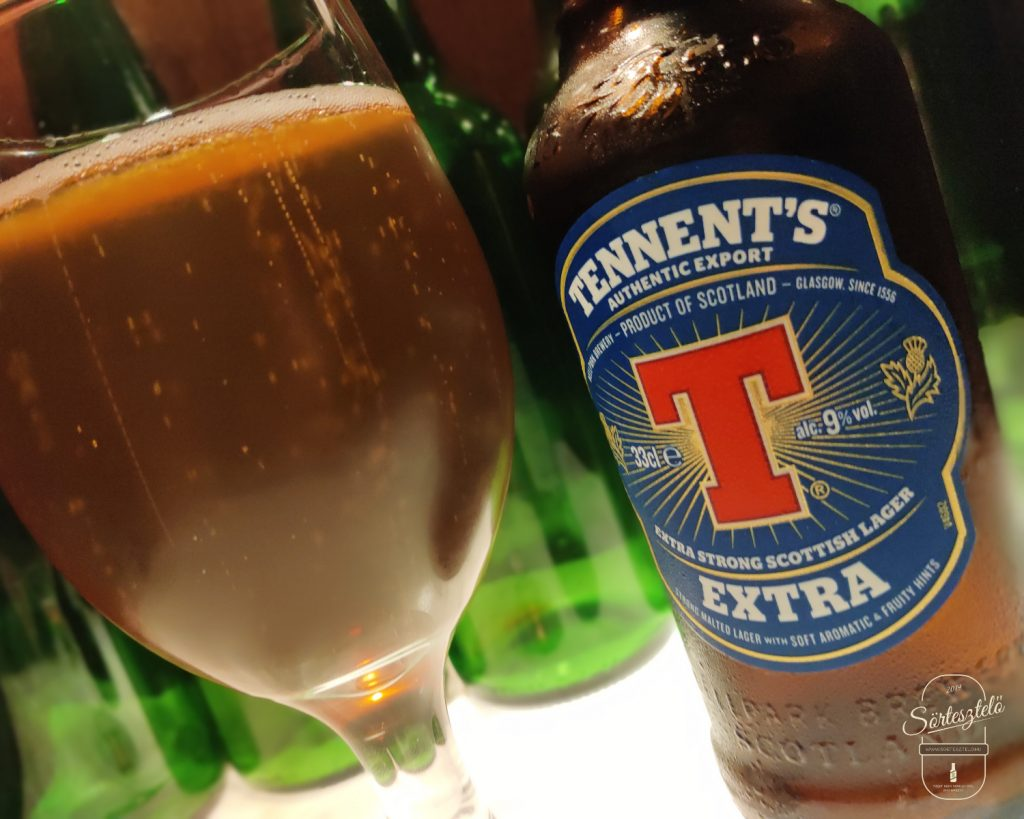Tennent's Extra Strong Scottish Lager - a skót kemény legények itala
