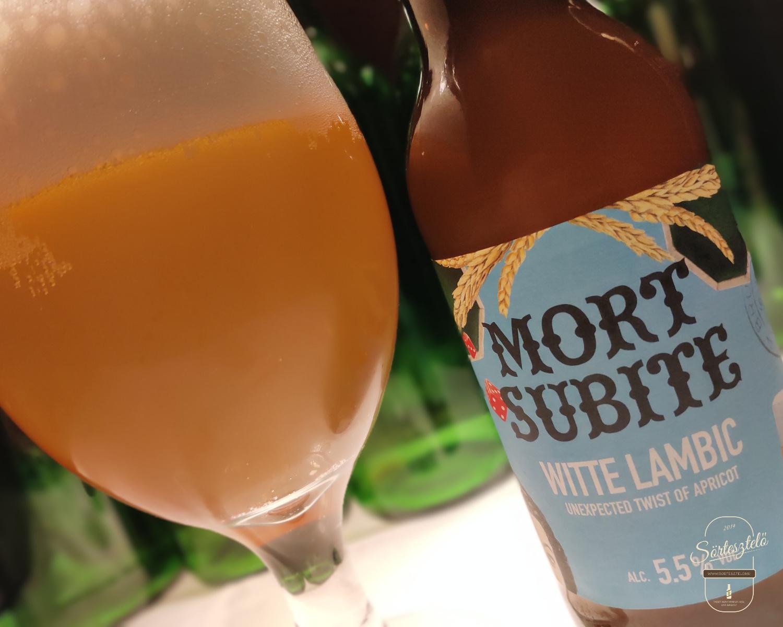 Mort Subite White Lambic - belga búzasör különlegesség