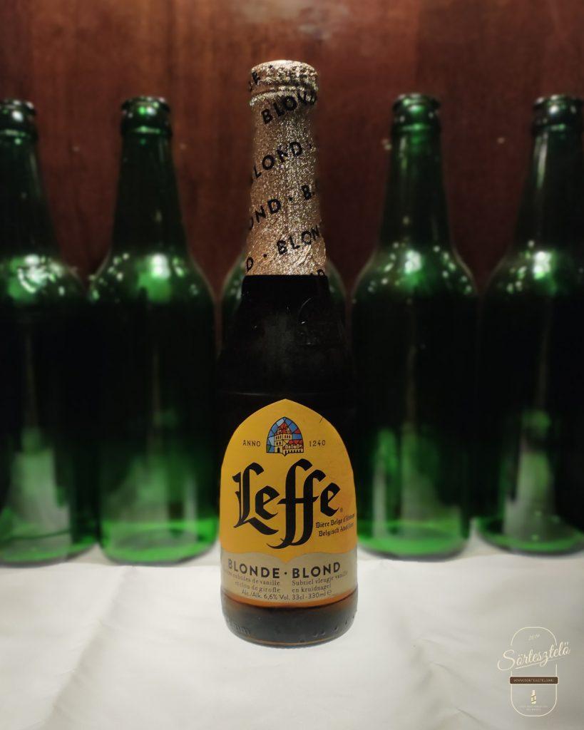 """Leffe Blonde - mindenki """"belgasöre"""""""
