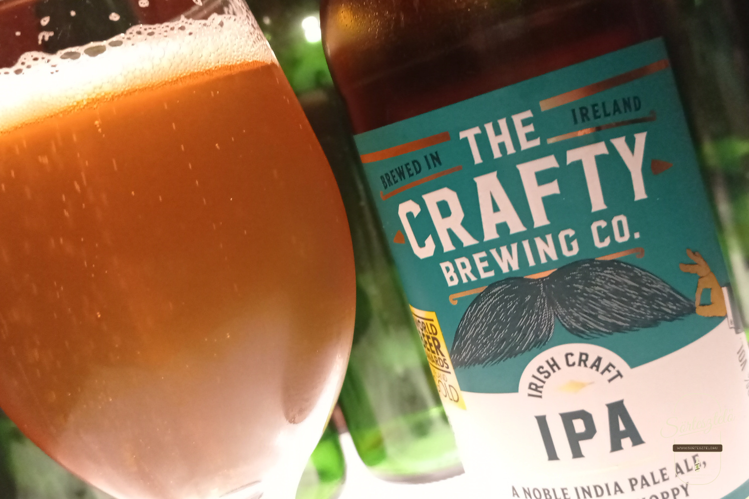 Irish Craft IPA (The Crafty Brewing Co.) - Útó Szent Patrik nap