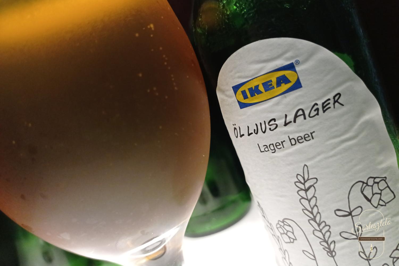 IKEA Öl Ljus Lager - a svéd fény