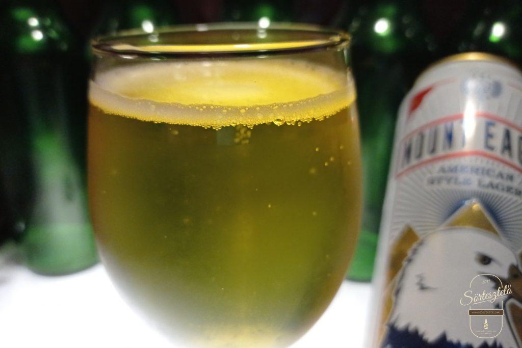 Mount Eagle American Style Lager - van élet az akciós sörök után
