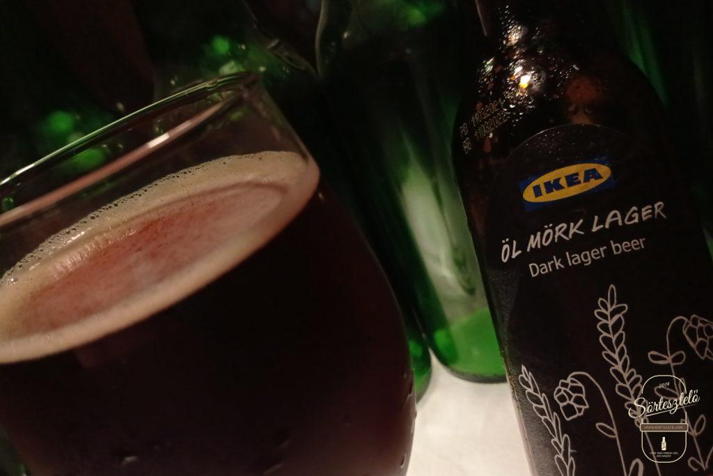 IKEA Öl Mörk Lager - egy palack svéd sötétség