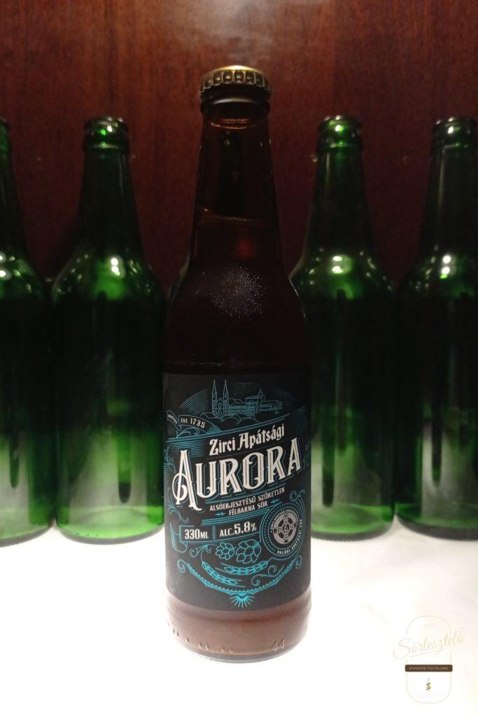Zirci Apátsági Aurora - magyar apátsági sörök 1. rész