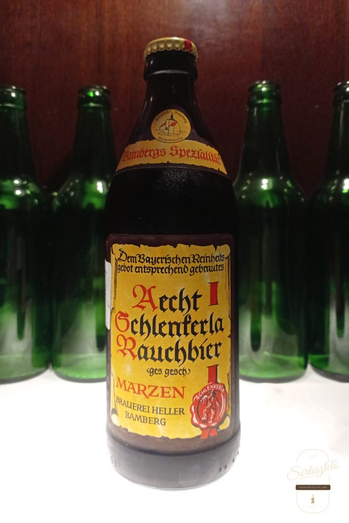 Aecht Schlenkerla Rauchbier - Märzen - felszállott a füst!