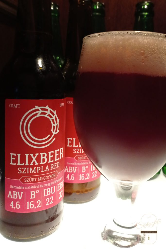 Elixbeer Szimpla Red - közel tökéletes választás